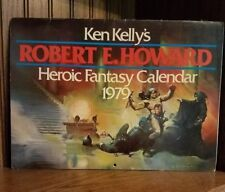 "Ken Kelly's ""Robert E. Howard"" Heroic Fantasy Calendar From 1979"