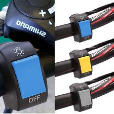 7/8'' Motorcycle Bike ATV Handlebar Fog Head Light ON-OFF Switch Button