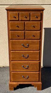 Ethan Allen Country Crossings Lingerie Chest Dresser Cinnamon Model #17-524