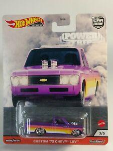 2020 Hot Wheels  Car Culture Power Trip - Custom '72 Chevy Luv Real Riders 3/5