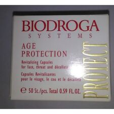 Biodroga Age Protection Revitalizing Capsules for face, throat and décolleté 50