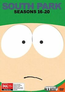 South Park: Seasons 16-20 (DVD, 2017, 11-Disc Set)