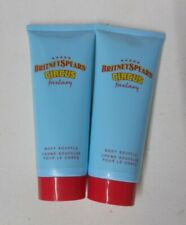 2 tube lot BRITNEY SPEARS CIRCUS FANTASY BODY SOUFFLE LOTION unsealed