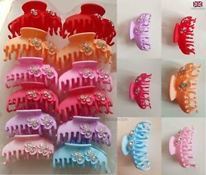 Women Girls Hairpin Large Size Hair Clips Clamp Hair Claw Hair Accessories UK