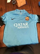Authentic Nike FC Barcelona Away Jersey L #25