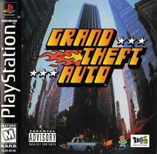 Grand Theft Auto - Ps1 Ps2 Playstation Game