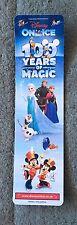Disney On Ice 100 Years Of Magic Bookmark 2017 UK Tour Frozen Beauty & The Beast