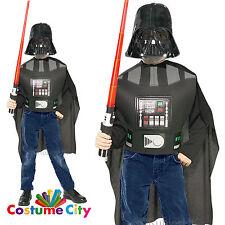 Kids Darth Vader Blister Set Official Licensed Star Wars Fancy Dress Costume