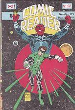 The Comic Reader December 1979 Fanzine Magazine #175 Green Lantern Cover