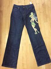 👖 Disney Store NWT Peter Pan Tinkerbell Jeans Sz 6 👖