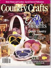 Country Crafts Spring 1992 50 Folk Art, French Country Classics, Doilies & More