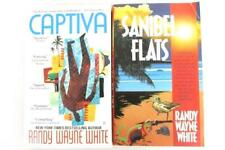 Lot of 2 Randy Wayne White Books Captiva Sanibel Flats Mystery Novel Paperback