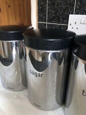 Brabantia Tea Coffee Sugar Canister