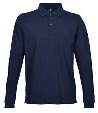 Magliette da uomo blu elasticizzate taglia XL