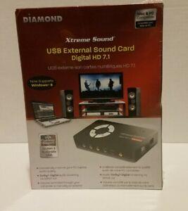 Diamond Digital HD 7.1 USB External Sound Card