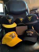 Team Instinct Pokemon Go Cap (Adjustable Hat, Choose from 5 styles)