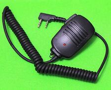 PTT Shoulder Microphone FOR KENWOOD TYT F8 BAOFENG UV5R MML UV100 Radio 2 PIN