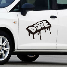 Cool Drip Dope Graffiti Style Vinyl Cars Trucks Race Car Decals Stickers
