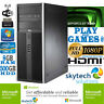 Fast Gaming PC Computer Bundle Intel Quad Core i5 8GB 500GB Windows 7 2GB GT730