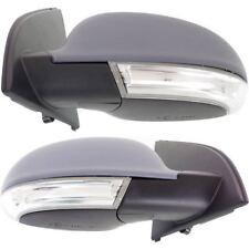 New Driver & Passenger Power Heated W/ Signal Door Mirror Set Fir 06-09 VW GTI