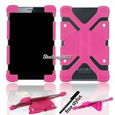Soft Silicone Shockproof Stand Cover Case For RCA 7 Voyager Tablet + Stylus