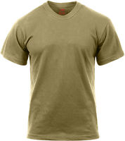 Coyote Brown Official AR 670-1 US Army Solid T-Shirt Tactical Military Tee