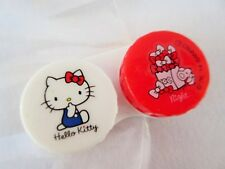 Kawaii Sanrio Hello Kitty contact lens Case For Soft Lens From Japan Brand New