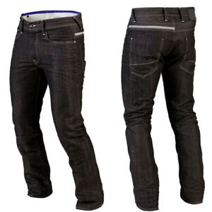 Mens Motorbike Jeans Protective Trousers Denim Black Motorcycle Pants With Armor