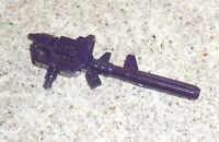 Transformers G2 G1 DEVASTATOR Gun Rifle Part Lot (Dark Purple)