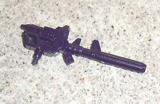 Transformers G2 DEVASTATOR Gun Rifle Part Lot (Dark Purple)