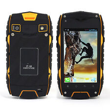 Unlocked Dual Sim Jeep Z6 Android Mobile Phone IP68 Waterproof Rugged Tough GPS