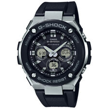 CASIO G-SHOCK GST-W300-1AER ENERGY SOLAR AND RADIO CONTROLLED IN RUBBER STEEL