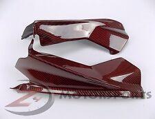2009-2014 Aprilia RSV4 Upper Air Dash Cover Panel Cowl Fairing Carbon Fiber Red