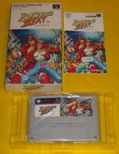 RUSHING BEAT Super Nintendo Famicom Snes NTSC Japanese Version ○○○○○ COMPLETO
