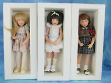 Kish Children of Yesteryear Doll Lot Matching #s Le Nmib w/ Coa's
