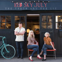 RED SKY JULY The Truth And The Lie 2015 UK 10-track CD album NEW/SEALED