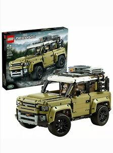 [Completely Build] LEGO Technic Land Rover Defender 42110