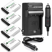 EN-EL19 Battery + Charger For Nikon Coolpix S3100 S3300 S4100 S6500 S4300 S5200