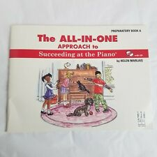 Helen Marlais All In One Approach to Piano Preparatory Book CD Succeeding