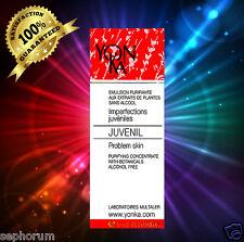 Yonka New Box Juvenil Deep Acne Fluid 0.5oz(15ml) SEALED EXP 06/18