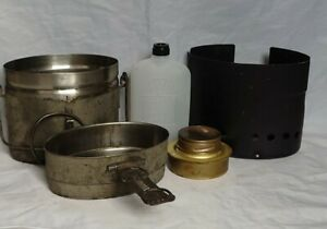 Swedish Army Stainless Steel M40 Mess Kit.