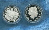 2007 SILVER Proof 50 Cent Coin Australia Ex Fine Silver Set