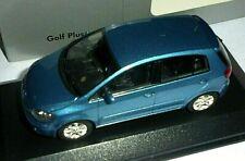 car 1/43 MINICHAMPS 5M0099300A5S VOLKSWAGEN GOLF V PLUS 2005 MET BLUE NEW BOX