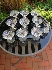 Bleikristall Gläser, Marke: KZK, handgeschliffen