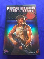 Hot Toys 1/6 First Blood John J. Rambo Sylvester Stallone MMS21 Japan