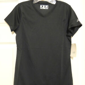 Women's New Balance Endurance Black Tec Shirt New SMALL