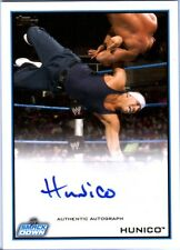 WWE Hunico Topps 2012 Authentic Autograph Card