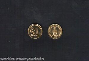 PARAGUAY 1 GUARANI KM192 1993 TOBACCO PLANT UNC LATINO AMERICAS MONEY COIN