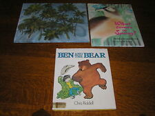 Lot BEN AND THE BEAR What Comes in Spring ON NOAH'S ARK 1st Printing Hardcovers