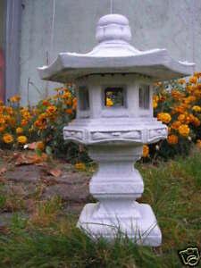 FengShui große Stein Pagode Gartenlaterne